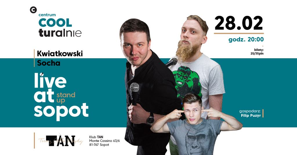 magazynkobiet.pl - 28060858 2090286897919856 8820679183999808780 o - Live at Sopot - Mateusz Socha+Tomasz Kwiatkowski/Filip Puzyr