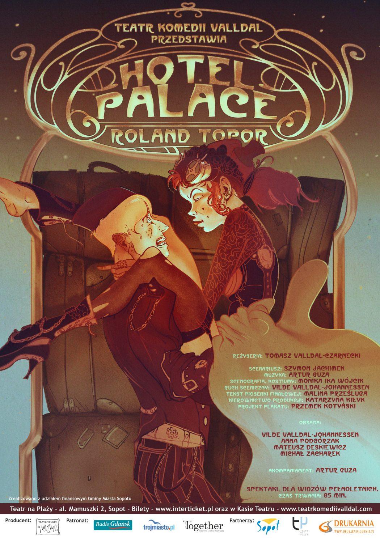 """magazynkobiet.pl - PlakatB2 1050x1487 - Spektakl """"Hotel Palace"""""""