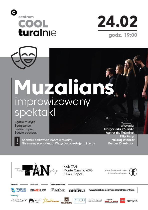 magazynkobiet.pl - Stand up improwizacje5812 - Muzalians - spektakl improwizowany