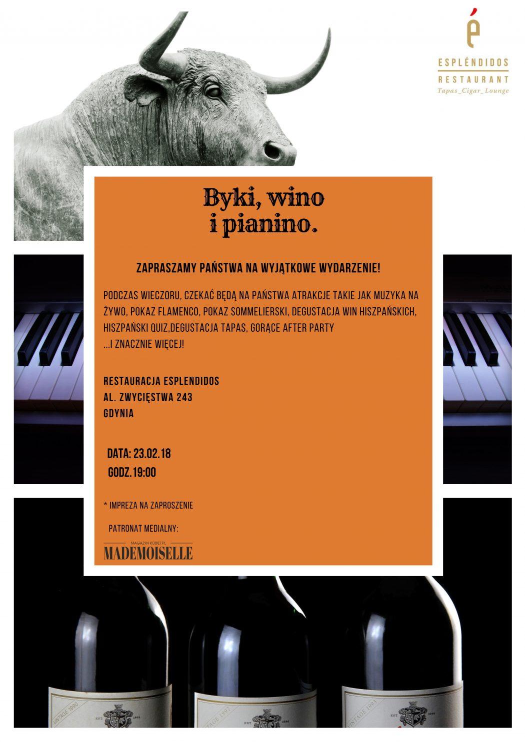 magazynkobiet.pl - byki 2 1050x1485 - Byki, wino i pianino…