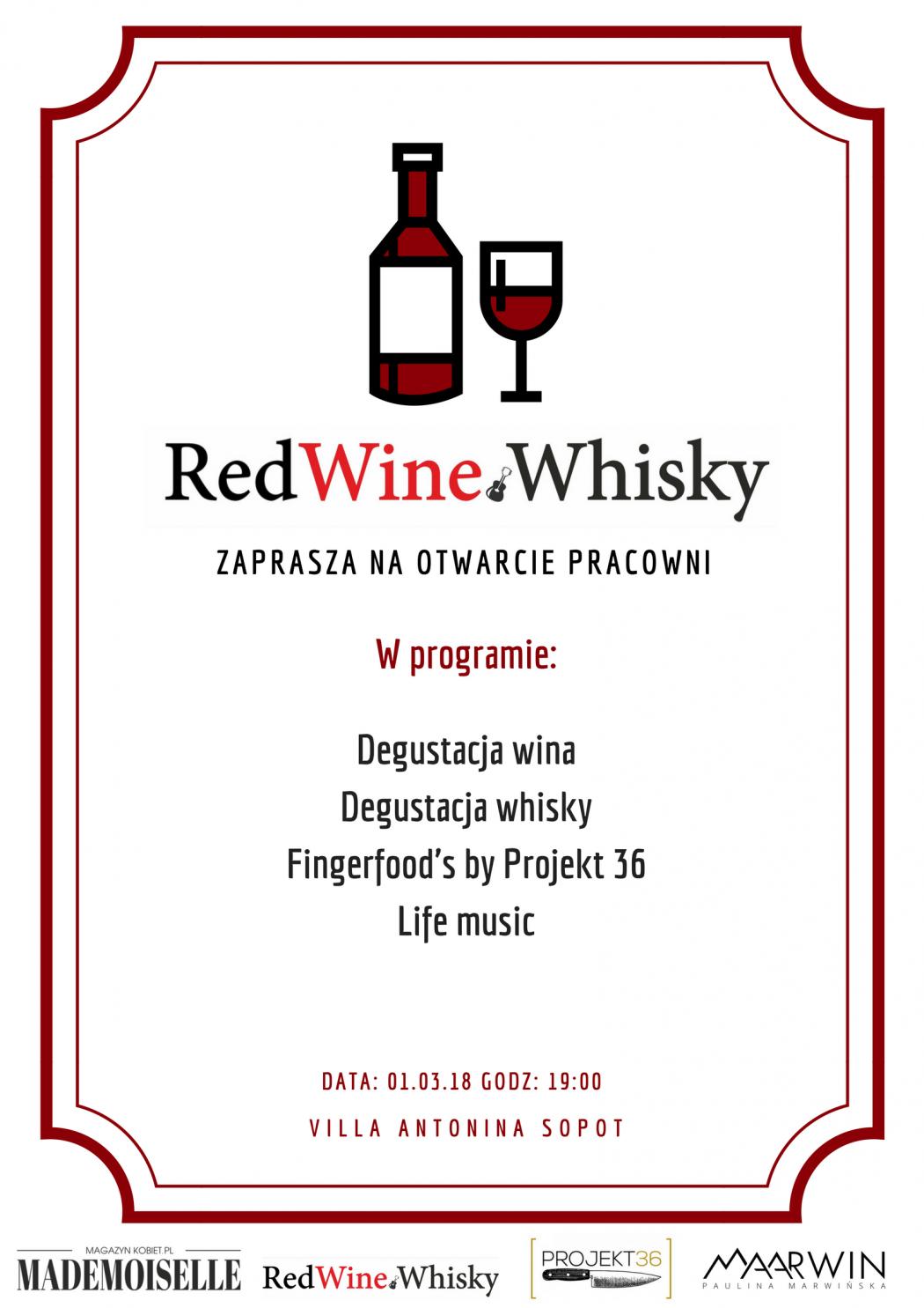 magazynkobiet.pl - plplpl 1050x1485 - Otwarcie pracowni marki Red Wine&Whisky