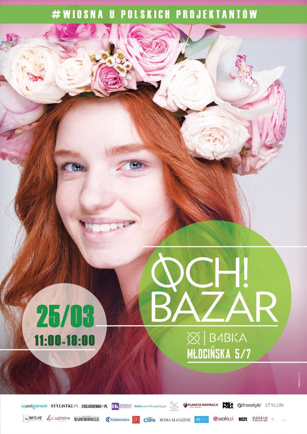 magazynkobiet.pl - PLAKAT OCH 1050x1482 - Wiosenne Targi Mody OCH BAZAR