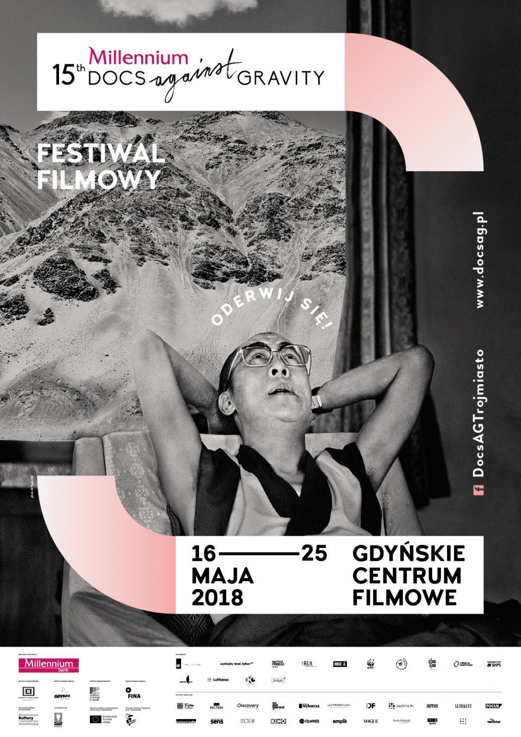 magazynkobiet.pl - DocsAG plakat 1050x1485 - 15. festiwal filmowy Millennium Docs Against Gravity po raz trzeci w Gdyni