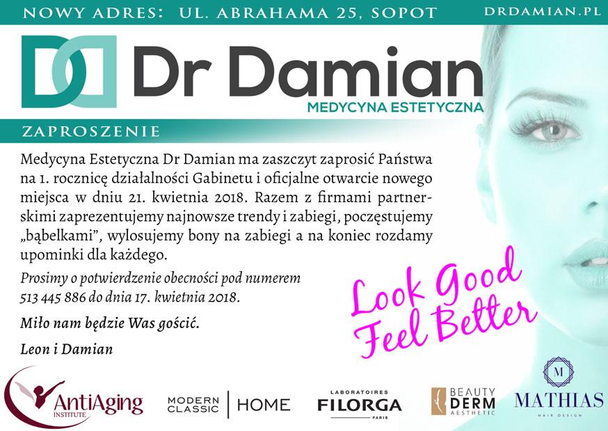 """magazynkobiet.pl - DrDamian MAgnes - Dr Damian - Poczęstujemy """"bąbelkami"""" i wylosujemy bony na zabiegi"""