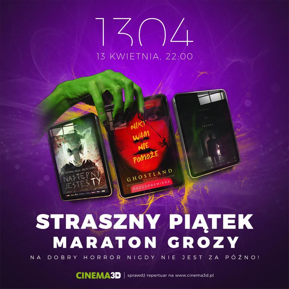 magazynkobiet.pl - Facebook post 04 13 Straszny Piątek - STRASZNY PIĄTEK 13 - MARATON GROZY