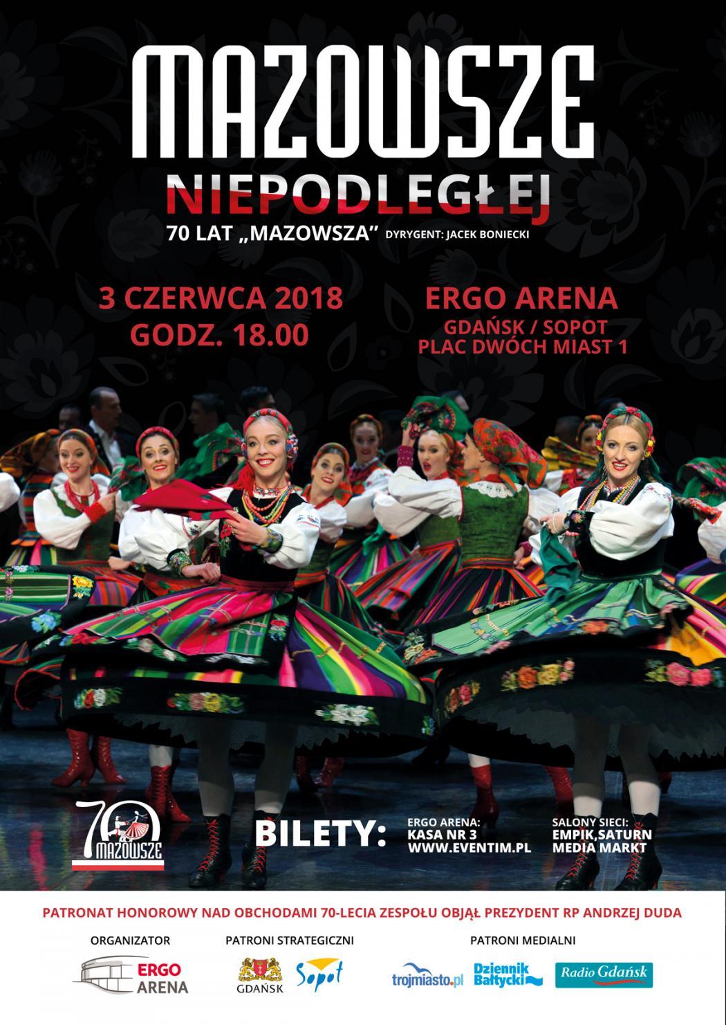 """magazynkobiet.pl - Mazowsze 1050x1481 - MAZOWSZE NIEPODLEGŁEJ - 70 lat """"Mazowsza"""""""