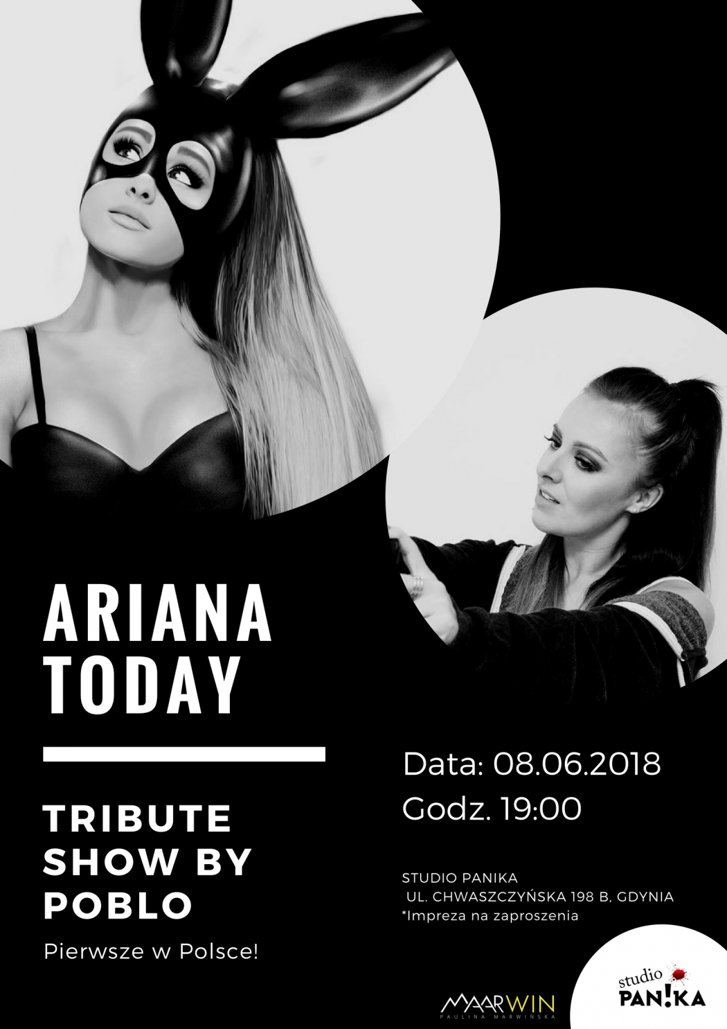 "magazynkobiet.pl - Ariana Today 1050x1485 - ""Ariana Today"" w Studio Panika 