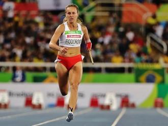Alicja Fiodorow na zawodach
