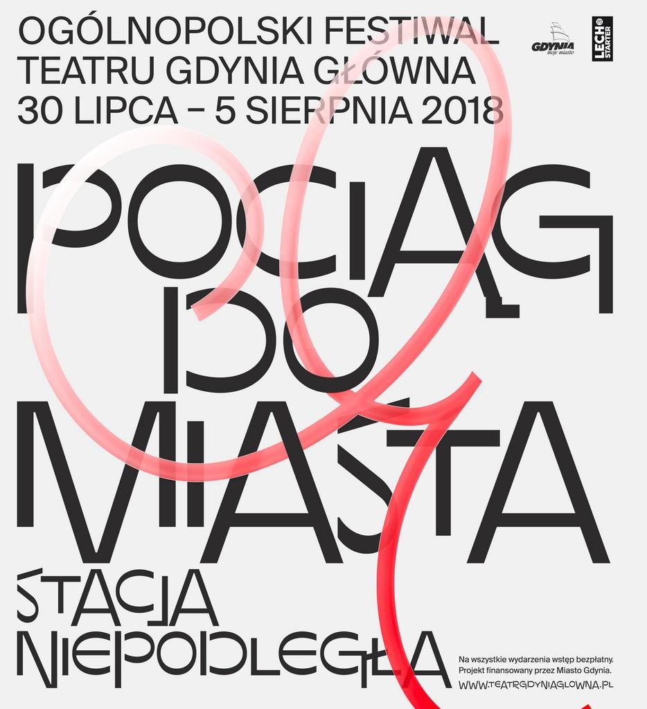 magazynkobiet.pl - POCIĄG DO MIASTA grafika 2 - Ogólnopolski Festiwal Teatru Gdynia Główna – POCIĄG DO MIASTA – STACJA NIEPODLEGŁA