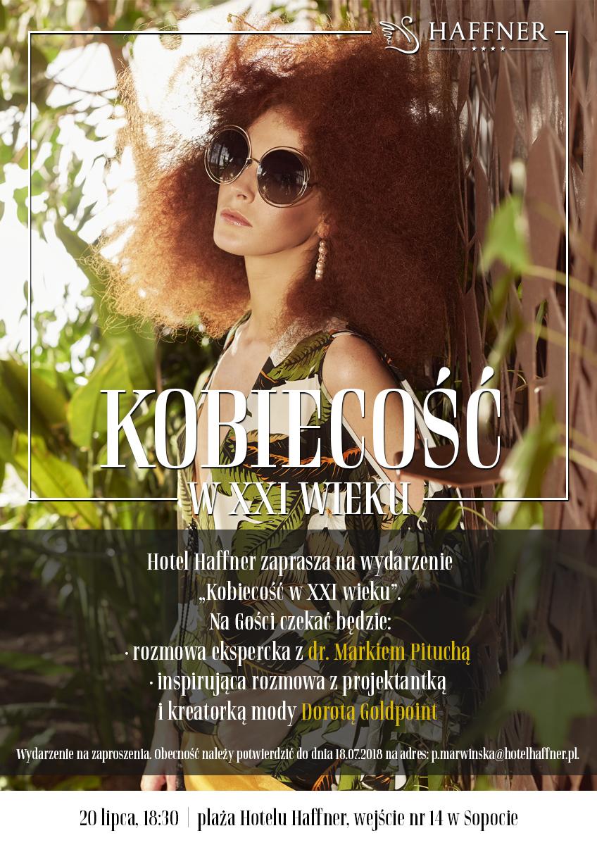magazynkobiet.pl - plakat kobiecosc d25614 - Kobiecość w XXI wieku w Hotelu Haffner