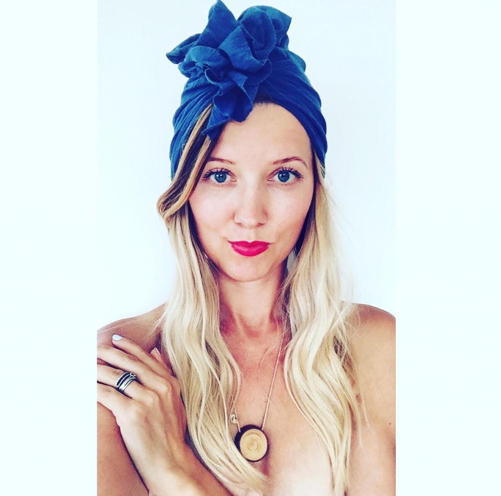 Turban dla kobiet Royal Blue