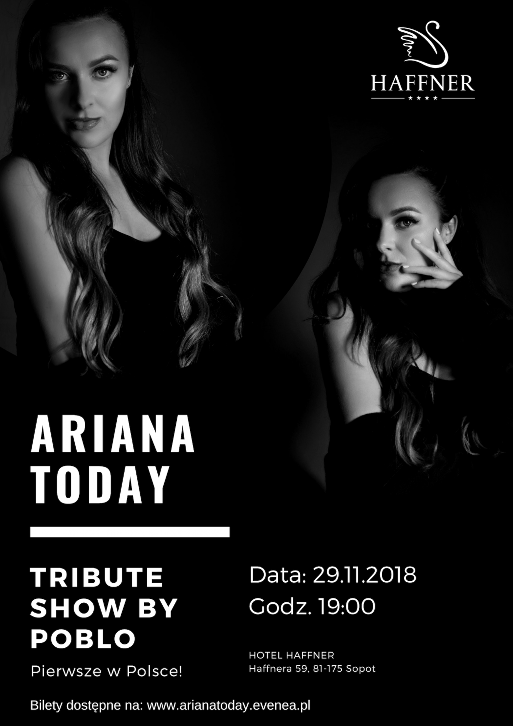 "magazynkobiet.pl - Ariana Today 1050x1485 - ""Ariana Today"" w Hotelu Haffner! 
