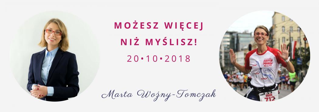 magazynkobiet.pl - Marta Tomczak 1050x369 - Możesz Więcej niż Myślisz - czyli Jak Być Fenomenalnym w 7 krokach | 20.10.2018