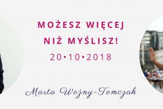 magazynkobiet.pl - Marta Tomczak 330x220 - Możesz Więcej niż Myślisz - czyli Jak Być Fenomenalnym w 7 krokach | 20.10.2018