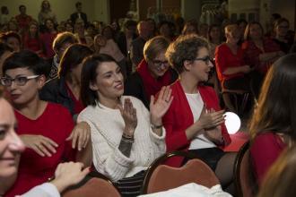 """magazynkobiet.pl - DSC1745 330x220 - V Gala Ladies in RED """"Kobietą być, wolną być"""" - patronowane"""