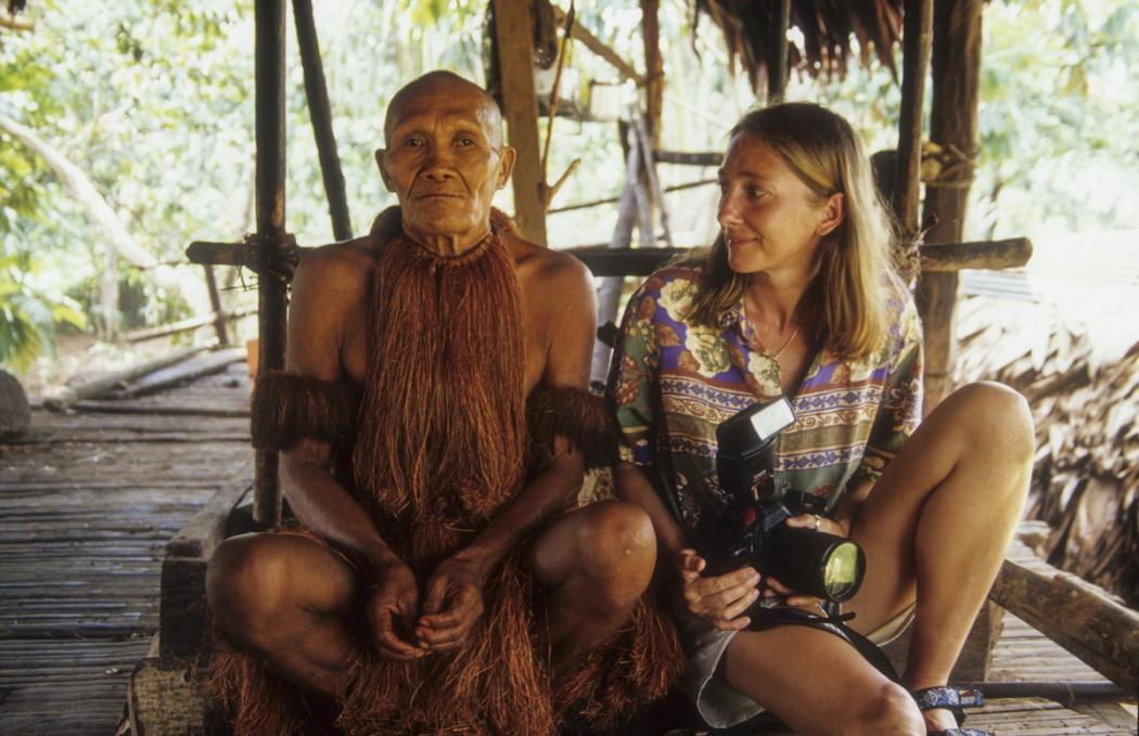 magazynkobiet.pl - Z szamanem Yagua 1050x679 - Beata Pawlikowska - Samotna wyprawa to szkolenie na poligonie życia