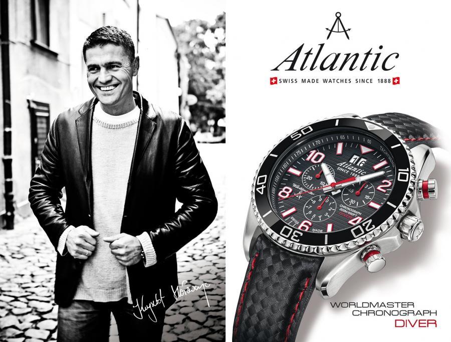 magazynkobiet.pl - atlantic krzysztof holowczyc - Stylowe zegarki na skórzanym pasku czy eleganckiej bransolecie? Porównujemy zegarki Atlantic