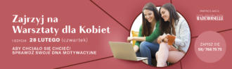 """magazynkobiet.pl - MADISON 2019 WARSZTATY I EDY SLAJDER WWW 1920x570pxOK 330x98 - Warsztaty rozwojowe dla kobiet """"Kobieta w Centrum"""""""