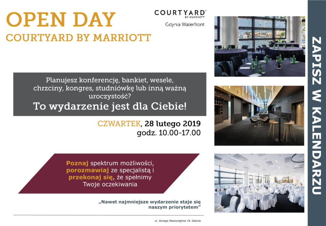 magazynkobiet.pl - Open Day 1 1050x727 - OPEN DAY w Courtyard by Marriott Gdynia Waterfront