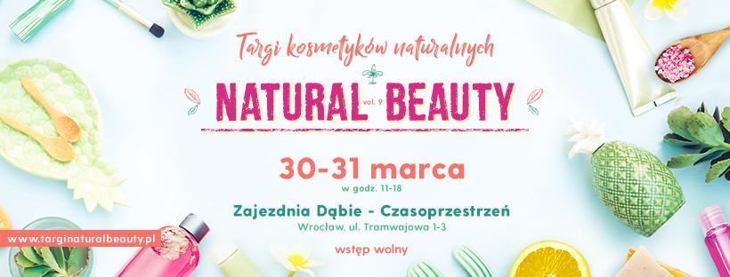 magazynkobiet.pl - Natural Beauty 820x312 - Targi kosmetyków naturalnych Natural Beauty 30-31 marca we Wrocławiu