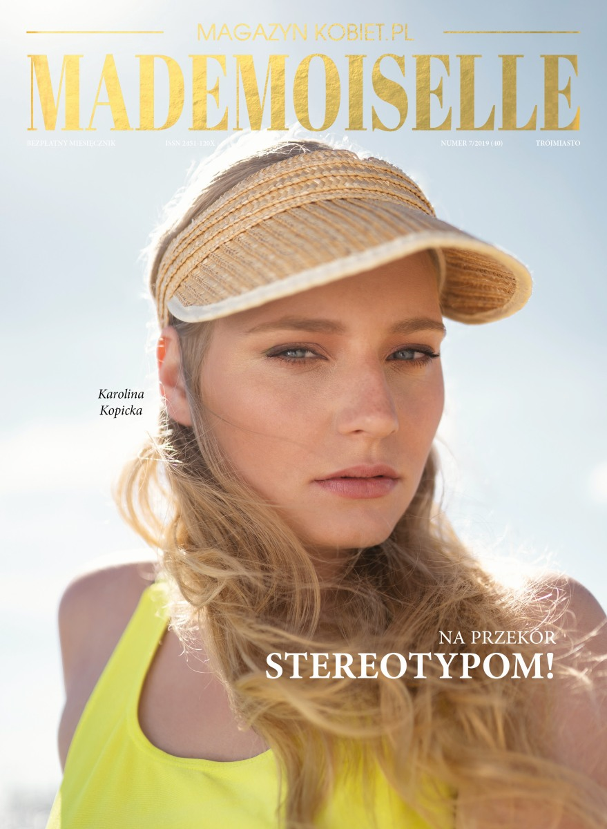 magazynkobiet.pl - MADEMOISELLE 2019.07 40 okladka - Archiwum czasopism