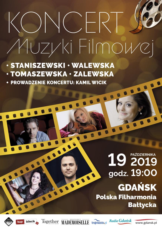 magazynkobiet.pl - Koncert Muzyki Filmowej Ulotka A5 B 1 - Koncert Muzyki Filmowej