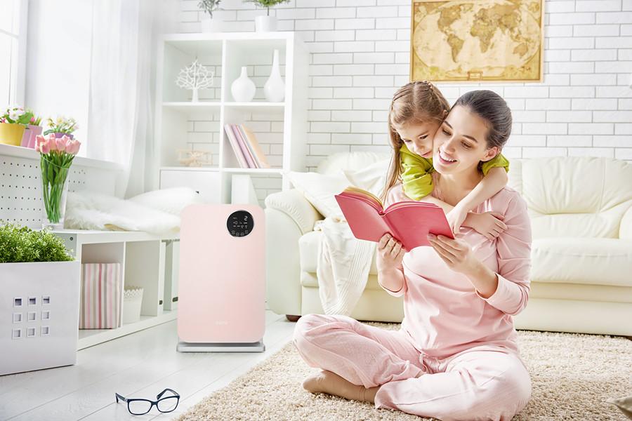 magazynkobiet.pl - oczyszczacz powietrza klarta forste 2 rose w pokoju - Nadmierne wypadanie włosów – przyczyny i sposoby ochrony