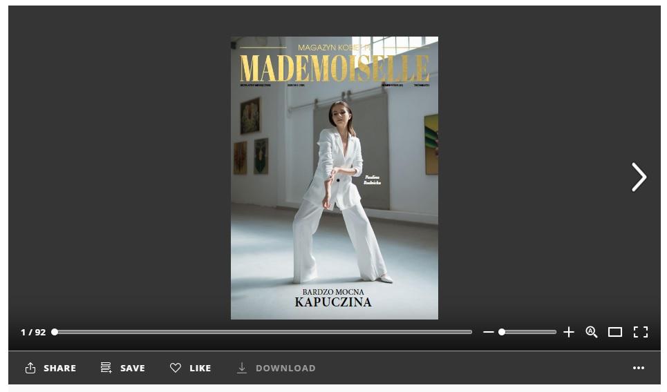 magazynkobiet.pl - kapuczin - MADEMOISELLE 9/2019