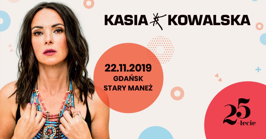 magazynkobiet.pl - Cover Kasia Kowalska 25 lecie Gdańsk 1050x547 - Kasia Kowalska z zespołem – 25-lecie