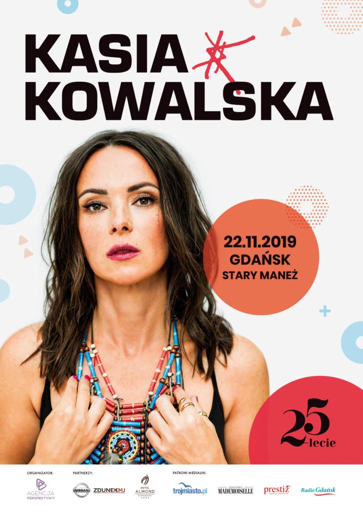 magazynkobiet.pl - Plakat Kasia Kowalska Gdańsk 25 lecie 726x1024 - Kasia Kowalska z zespołem – 25-lecie