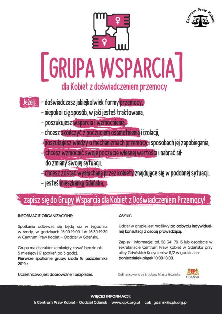 magazynkobiet.pl - 08.01 Grupa wsparcia dla kobiet z doświadczeniem przemocy 724x1024 - Dzieje się w styczniu - kalendarium Mademoiselle