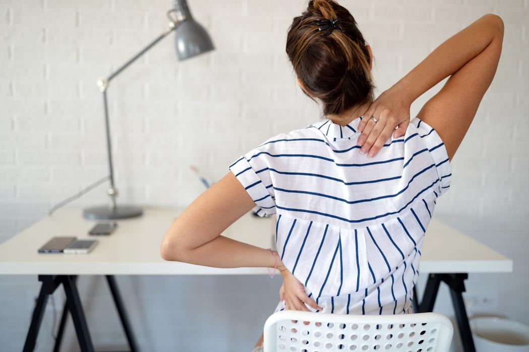 magazynkobiet.pl - adobestock 302142796 1050x700 - 5 sposobów na ból pleców