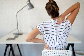 5 sposobów na ból pleców