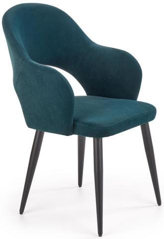magazynkobiet.pl - tapicerowane krzeslo ofelio zielone big 330x480 - Krzesła welurowe - meble, które sprawdzą się w każdym wnętrzu!
