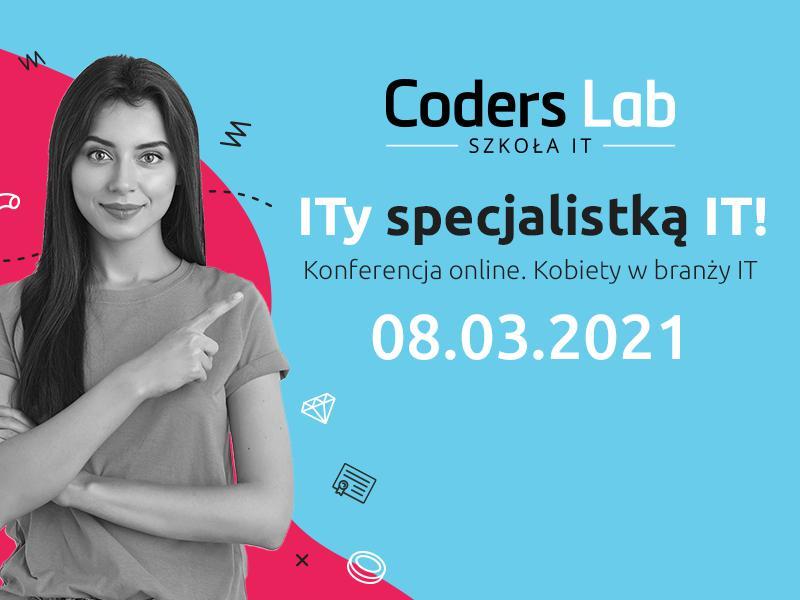 """magazynkobiet.pl - ITy specjalistką IT Kobiety w branży IT baner 800x600 - Konferencja online """"ITy specjalistką IT! Kobiety w branży IT"""""""