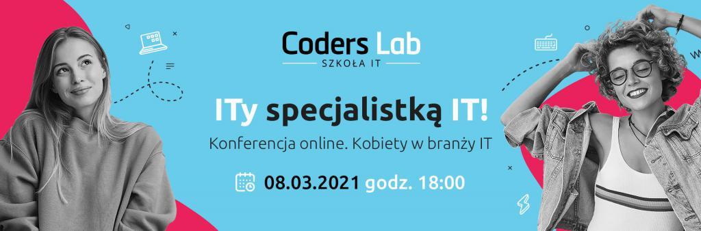 """magazynkobiet.pl - ITy specjalistką IT Kobiety w branży IT banner 1024x338 - Konferencja online """"ITy specjalistką IT! Kobiety w branży IT"""""""