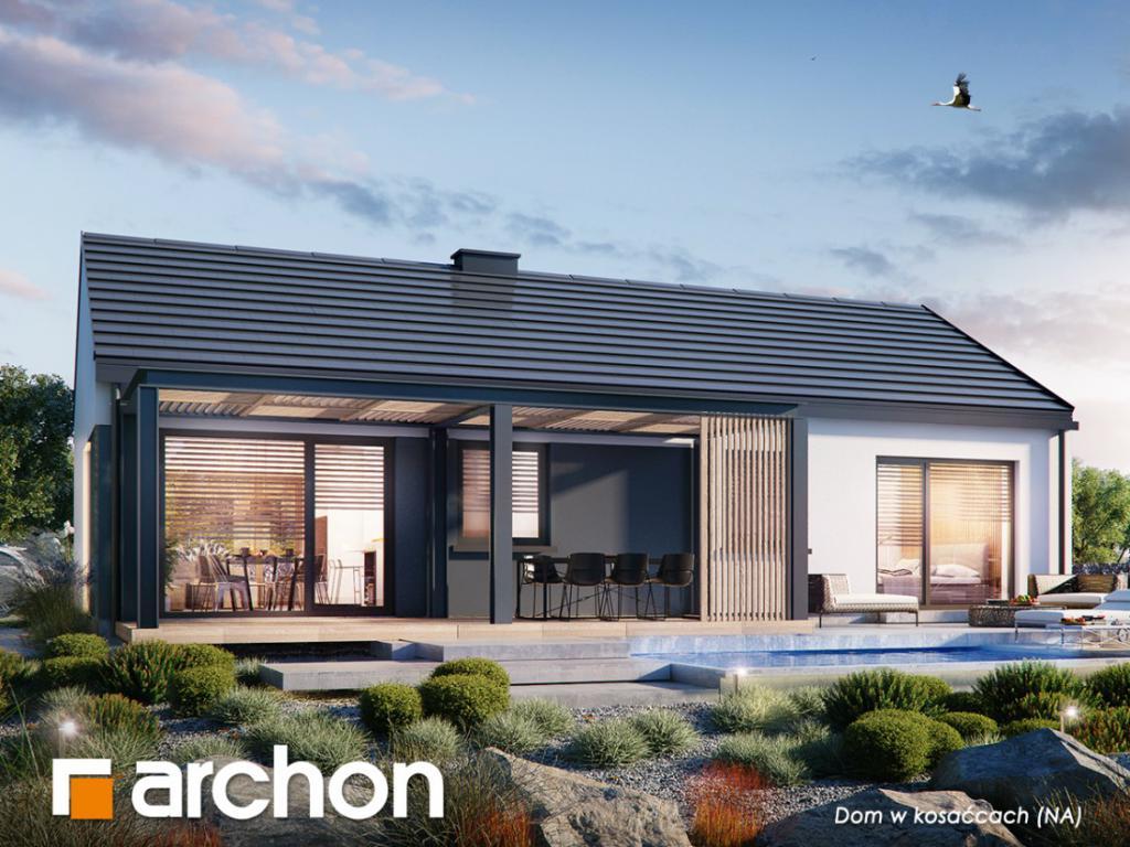 magazynkobiet.pl - 1200x900 Dom w kosaccach NA 1024x768 - Dlaczego warto wybrać projekt domu z kosztorysem?