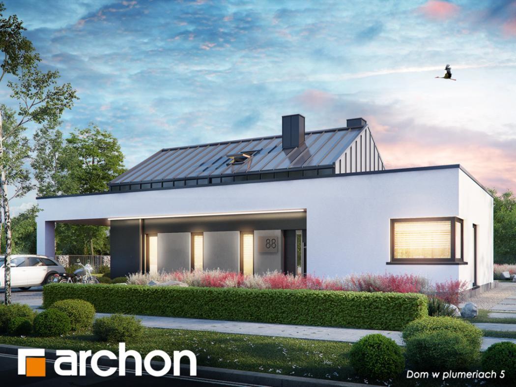 magazynkobiet.pl - 1200x900 Dom w plumeriach 5 1050x787 - Dlaczego warto wybrać projekt domu z kosztorysem?