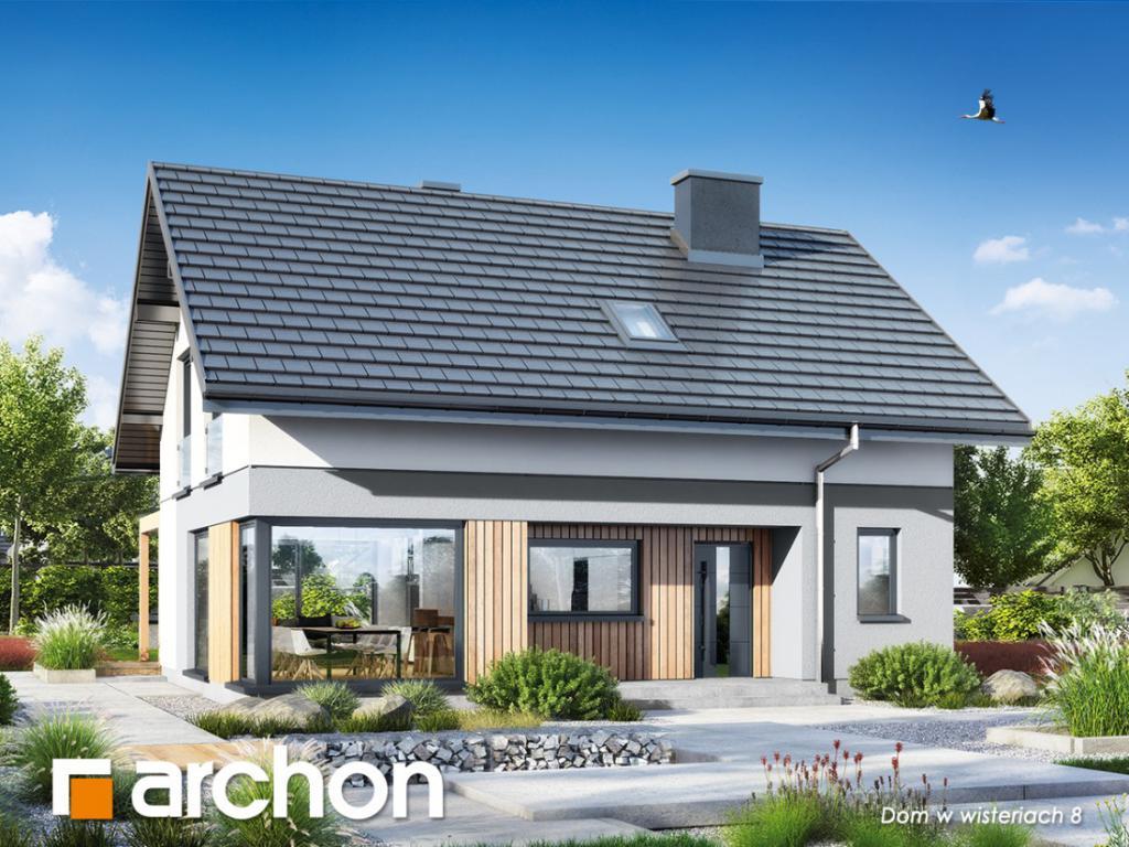 magazynkobiet.pl - 1200x900  Dom w wisteriach 8 1024x768 - Dlaczego warto wybrać projekt domu z kosztorysem?
