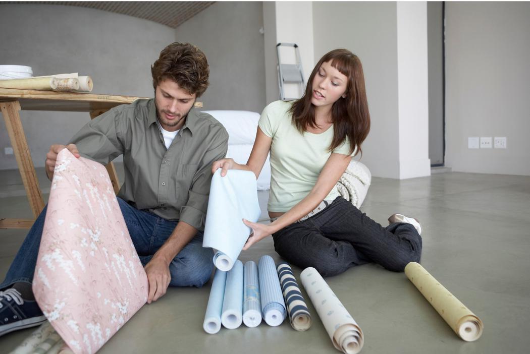 magazynkobiet.pl - tapetydekoracje 1050x702 - Aranżacja mieszkania- niedrogie sposoby na dekoracje ścian